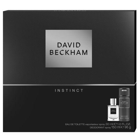 David Beckham Instinct Промо комплект за мъже Тоалетна вода и Део спрей