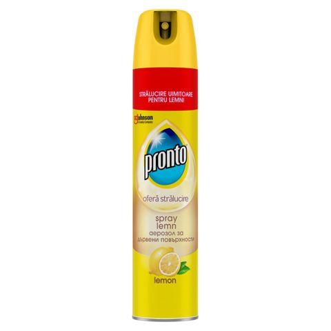 Pronto Lemon Аерозол за дървени повърхности с аромат на лимон x300 мл