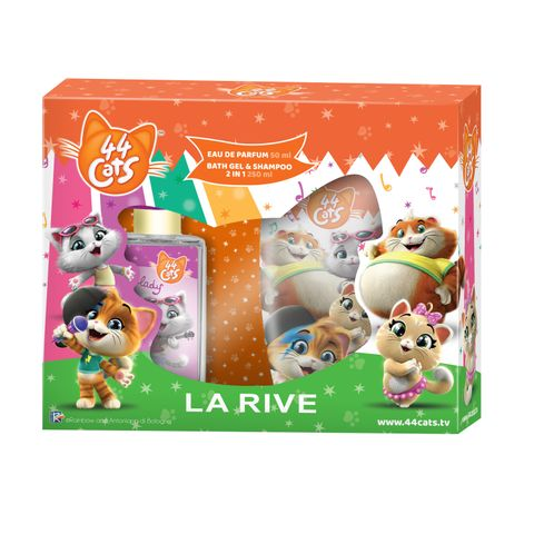 La Rive 44 Cats Промо комплект за деца Парфюмна вода и Душ гел 2 в 1