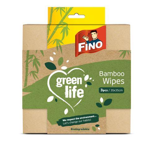 Fino Green Life Кърпи от бамбук х3 броя
