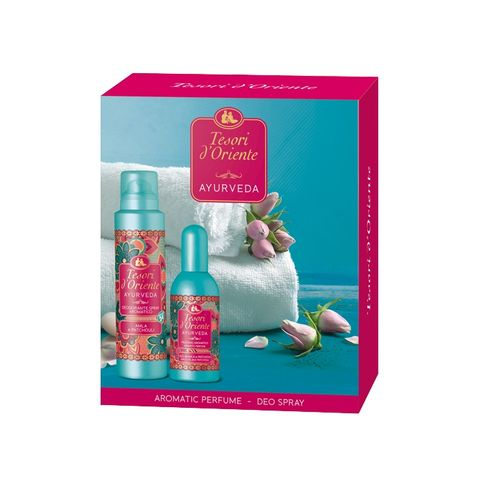 Tesori d' Oriente Промо комплект за жени Аюрведа Тоалетна вода и дезодорант спрей