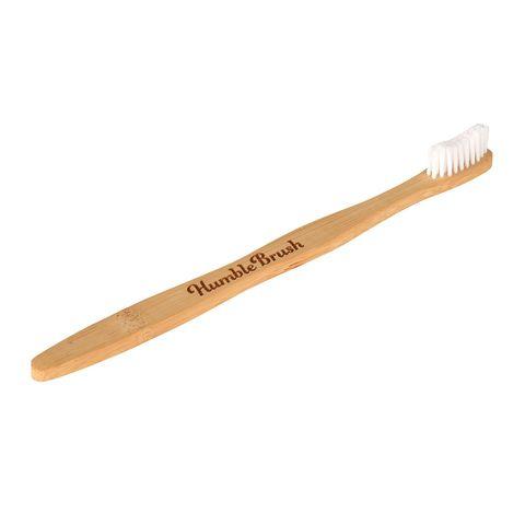 Humble Brush Бамбукова четка за зъби за възрастни Soft, цвят Бяла х1 брой