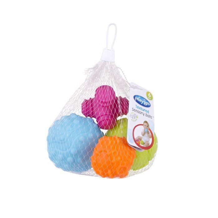 Playgro Релефни топки за деца над 6 месеца x4 броя