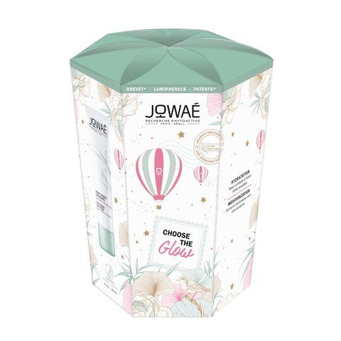 Jowae Choose The Glow Промо комплект Почистваща мицеларна вода за всякакъв тип кожа и хидратиращ крем за лице