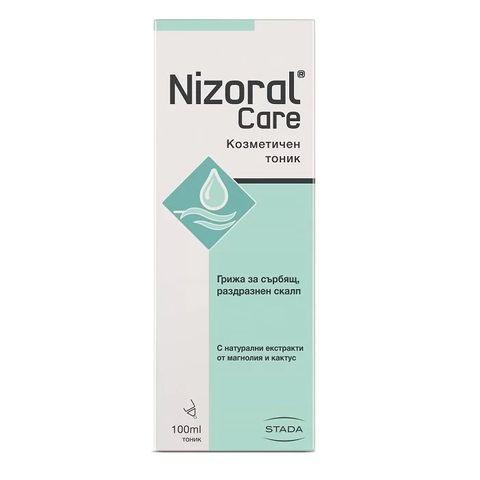 Nizoral Care Козметичен тоник при сърбящ и раздразнен скалп x100 мл - Stada