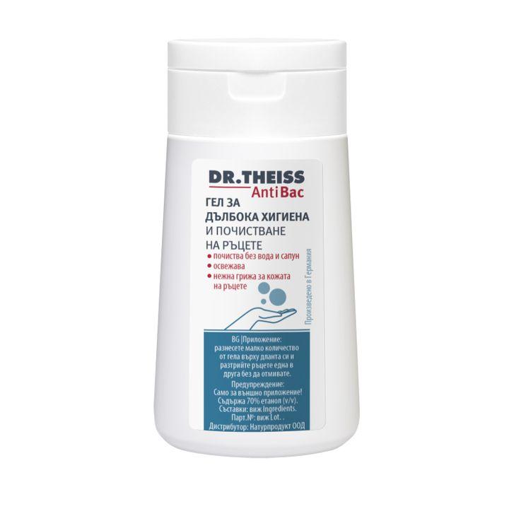 Dr. Theiss AntiBac Дълбоко почистващ и освежаващ гел за хигиена на ръцете x100 мл
