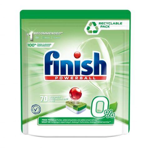 Finish Powerball 0% Таблетки за съдомиялна машина х70 броя