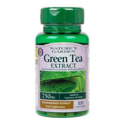 Holland and Barrett Зелен чай екстракт 750мг х100 таблетки
