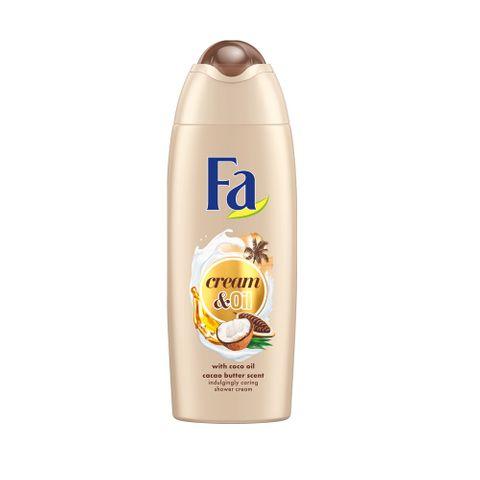 Fa Cream and Oil Душ крем за тяло с аромат на какао и кокос х250 мл