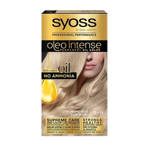 Syoss Oleo Intense Трайна крем боя за коса без амоняк, 9-11 Cool Blond