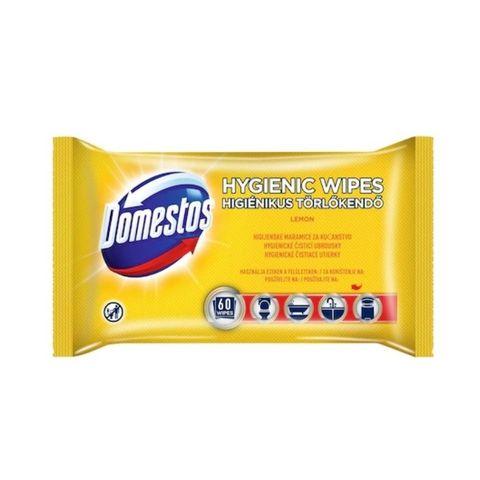 Domestos Хигиенни влажни кърпи Лимон x60 броя