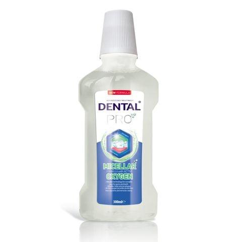 Dental Pro Micellar & Oxygen Мицеларна вода за уста x500 мл