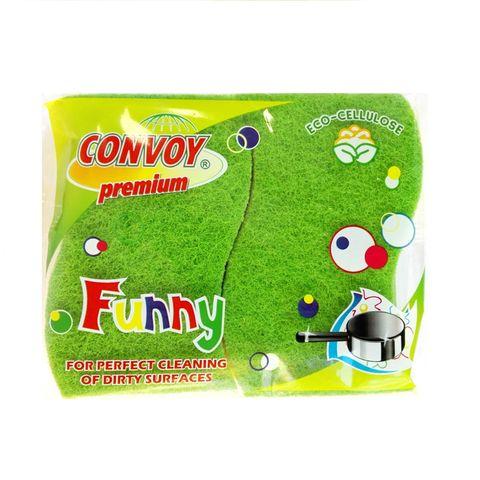 Magic Clean Premium Домакинска гъба Eco-cellulose Funny x2 броя