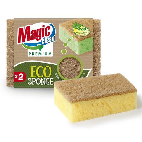 Magic Clean Premium Домакинска гъба Eco x2 броя