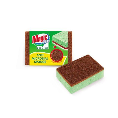 Magic Clean Premium Домакинска гъба Anti Microbial x2 броя