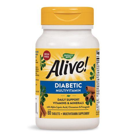 Alive Мултивитамини за диабетици х60 таблетки Nature's Way