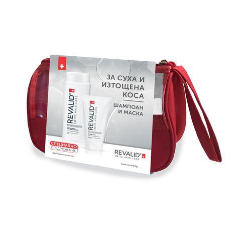 Revalid Промо комплект Ревитализиращ шампоан и маска за суха и изтощена коса