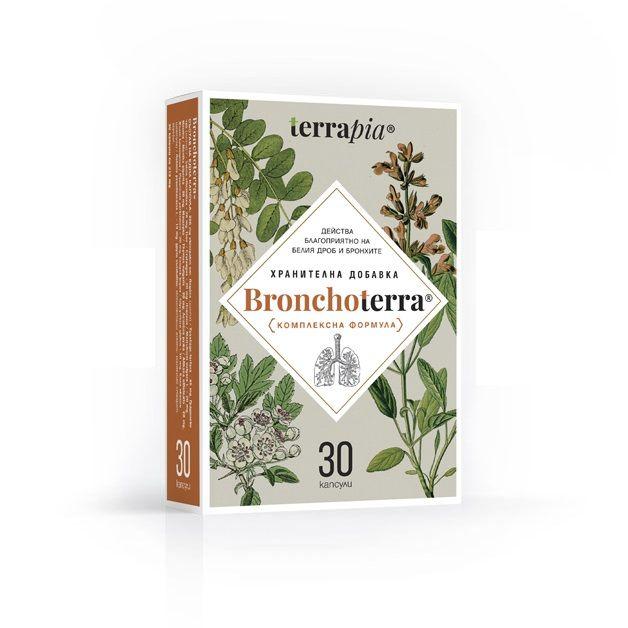 Terrapia Бронхотера х30 капсули