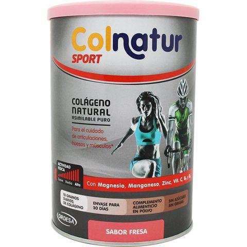 Colnatur Sport Естествен колаген с вкус на ягода за стави, кости и мускули х351 грама