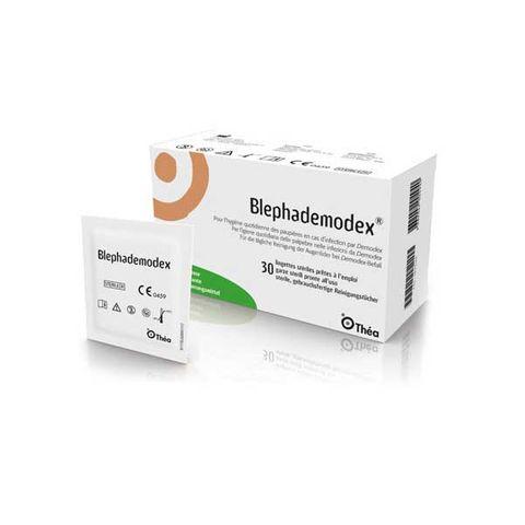 Блефадемодекс стерилни кърпички с лосион х30 броя