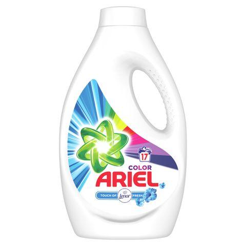 Ariel Color Течен перилен препарат с добавен омекотител Touch Of Lenor Fresh x0,935 л
