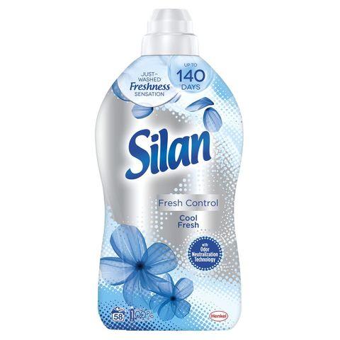 Silan Fresh Control Концентриран омекотител Cool Fresh x1,45 л