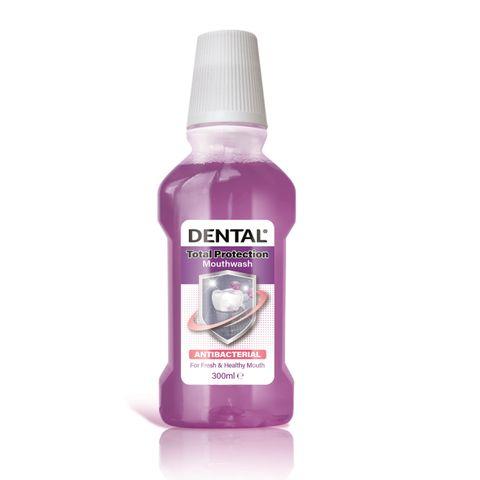 Dental Total Protection Антибактериална вода за уста x300 мл
