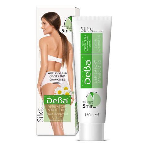 Deva Крем депилатоар с масла и екстракт от лайка за нормална кожа x150 мл