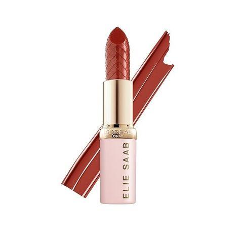 L'Oreal X Elie Saab Color Riche Червило за устни със сатенен финиш, 03 Rose Bang
