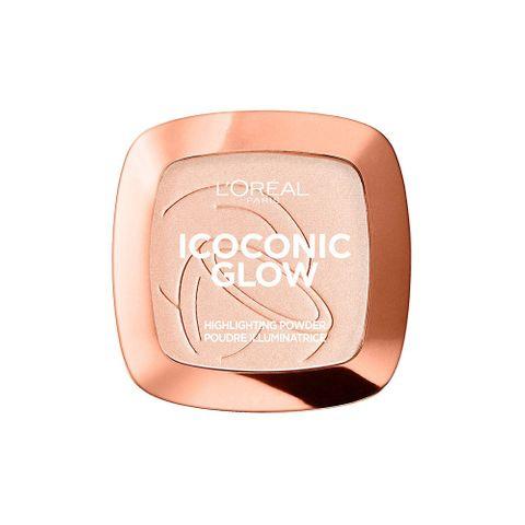 L'Оreal Icoconic Glow Пудра хайлайтър за лице, 01 Coconut Addict