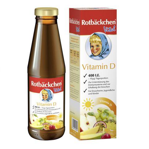 Rabenhorst Натурален сок обогатен на витамин D за възрастни и деца x450 мл