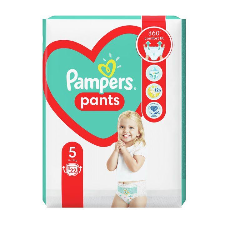 Pampers Pants 5 Junior Пелени-гащи за бебета и деца от 12 до 17 килограма x22 броя