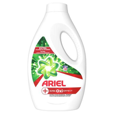 Ariel +Ultra Oxi Effect Течен перилен препарат x0,990 мл