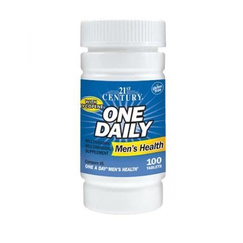 21st Century One Daily Мултивитамини и мултиминерали за мъже с Ликопен х100 таблетки