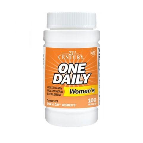 21st Century One Daily Мултивитамини и мултиминерали за жени х100 таблетки