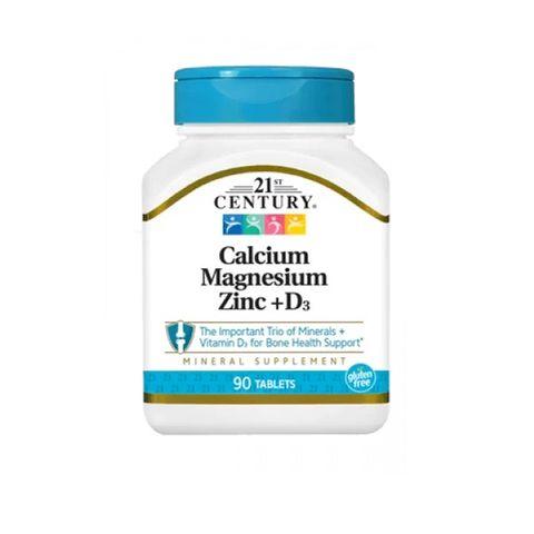 21st Century Калций Магнезий Цинк + Витамин D х90 таблетки