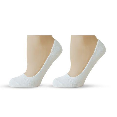 Agiva Happy Foottopia Класически балеринки от бамбук - размер 39-42, Бели