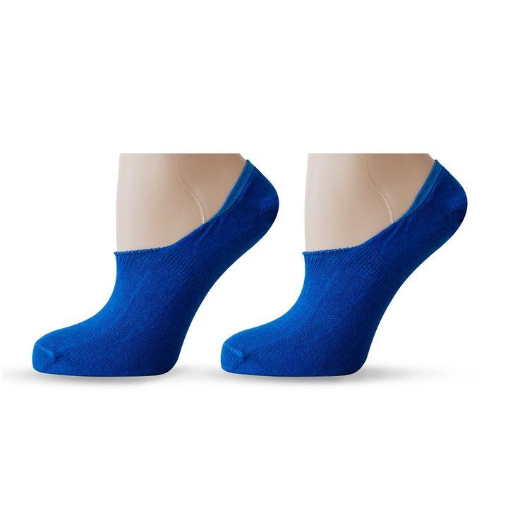 Agiva Happy Foottopia Класически терлици за маратонки от органичен памук - размер 35-38, Сини