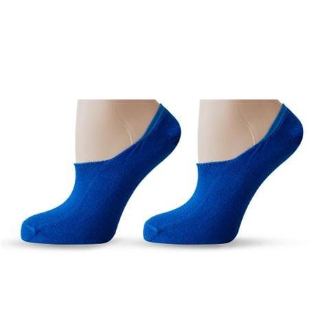Agiva Happy Foottopia Класически терлици за маратонки от органичен памук - размер 39-42, Сини