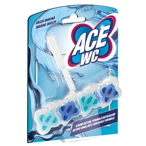 Ace WC Тоалетно блокче Marine Breeze x48 грама