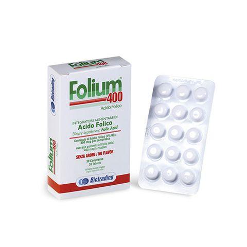 Фолиум 400 х30 таблетки