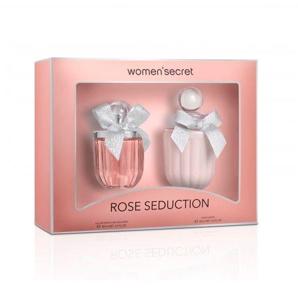 Women Secret Rose Seduction Промо комплект Дамски парфюм и Лосион за тяло