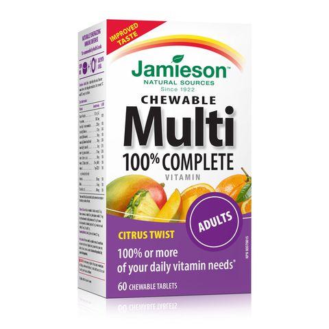 Jamieson Мултивитамини за възрастни х60 дъвчащи таблетки