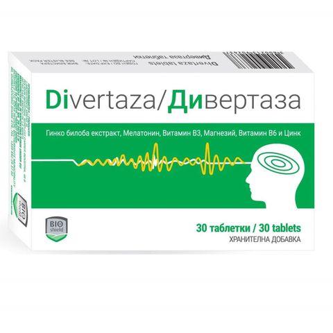 Дивертаза х30 таблетки Bioshield