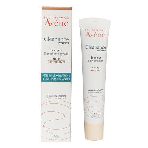 Avene Cleanance Women Тонирана емулсия за лице за кожа с несъвършенства SPF30 x40 мл