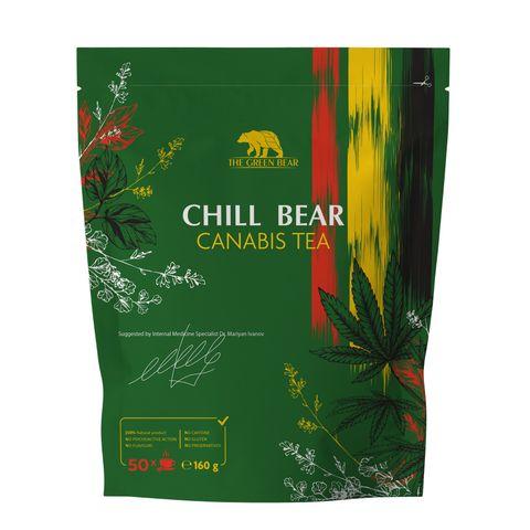 Chill Bear Успокоителен чай x160 грама