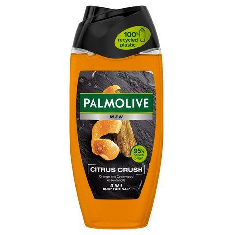Palmolive Men Cistrus Crush Душ гел за мъже за тяло, лице и коса x250 мл