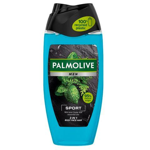 Palmolive Men Sport Душ гел за мъже за тяло, лице и коса x250 мл