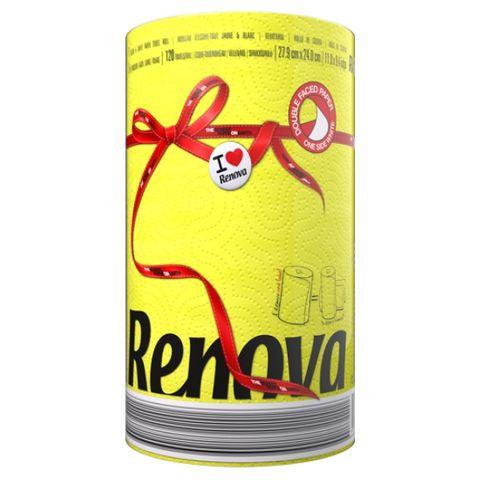 Renova Кухненска хартия x1 брой, жълта