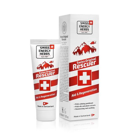 Swiss Energy Herbs Rescuer Балсам грижа за кожата x40 мл